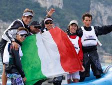 Riva del Garda, Campionato del Mondo a squadre Optimist, Argento