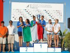 Carlotta Omari-Francesca Russo Cirillo oro nel 420 femminile, Sara Di Vettimo-Vittoria Barbi, medaglia d'argento