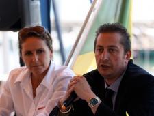 Alessandra Sensini (Coni e Fiv) e Francesco Ettorre (Fiv)